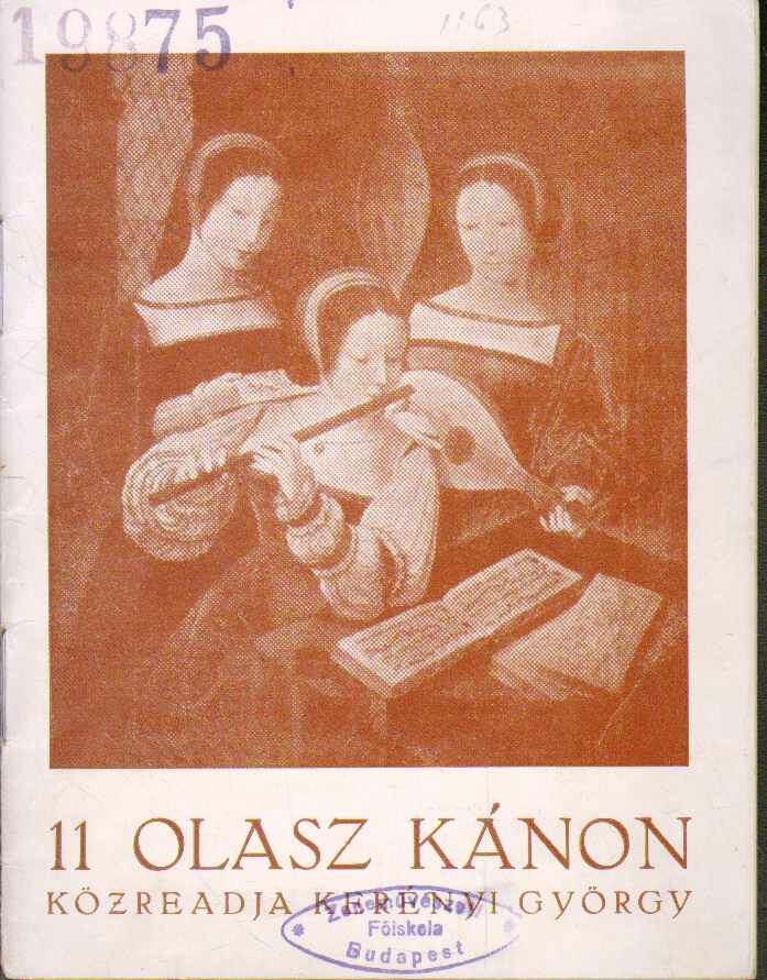 11 olasz kánon