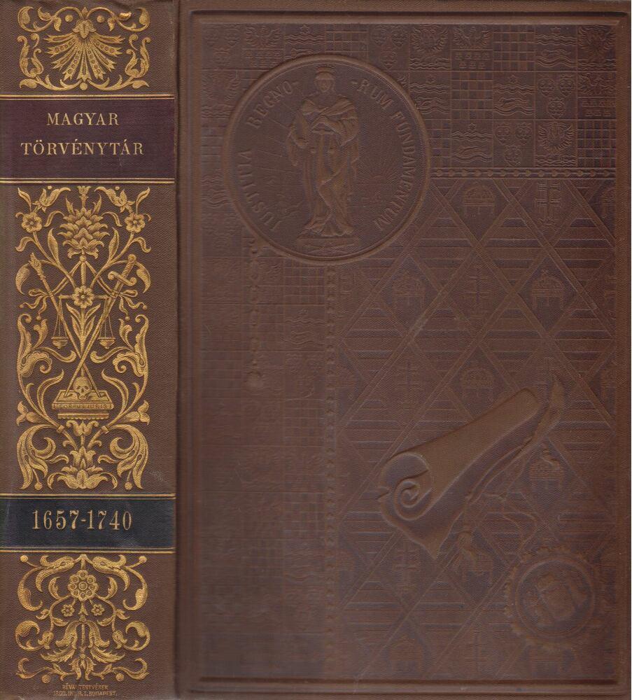 1657-1740. évi törvényczikkek