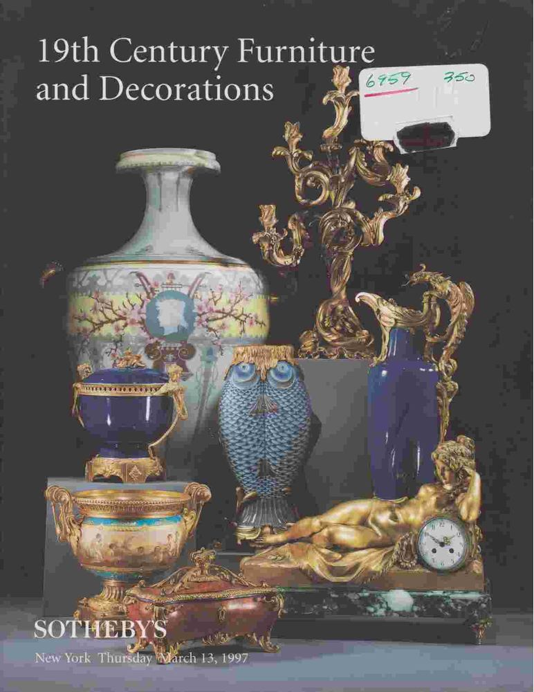 19th Century Furniture and Decorations