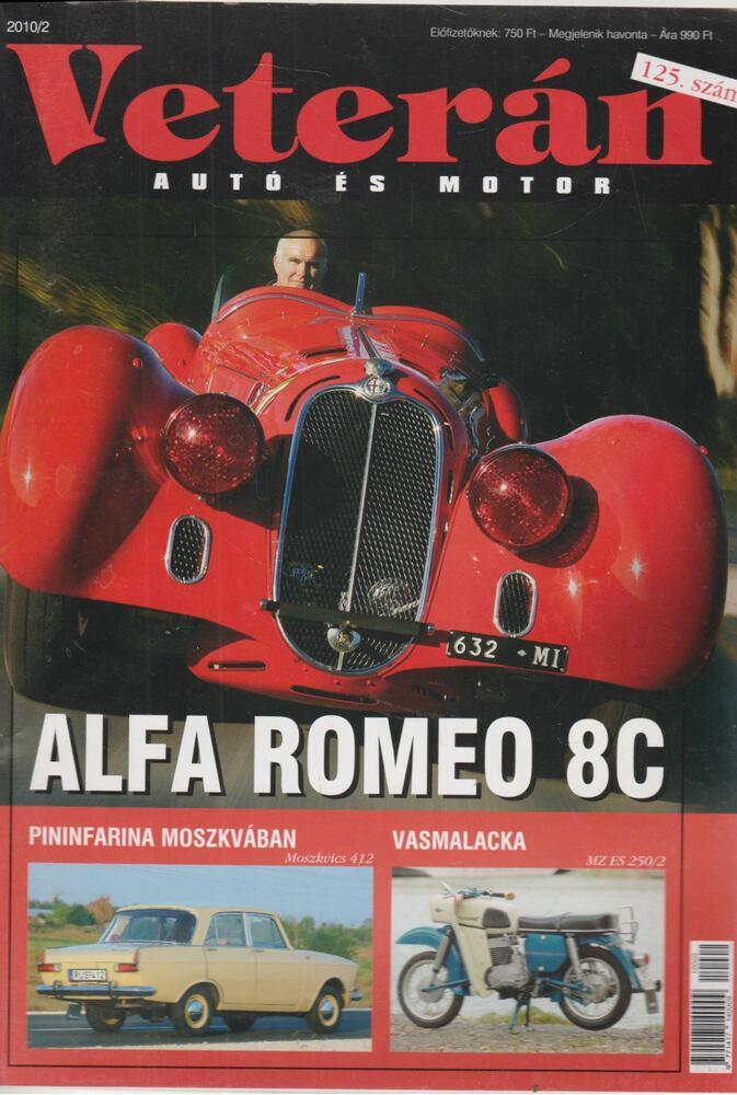 Veterán autó és motor 2010/2
