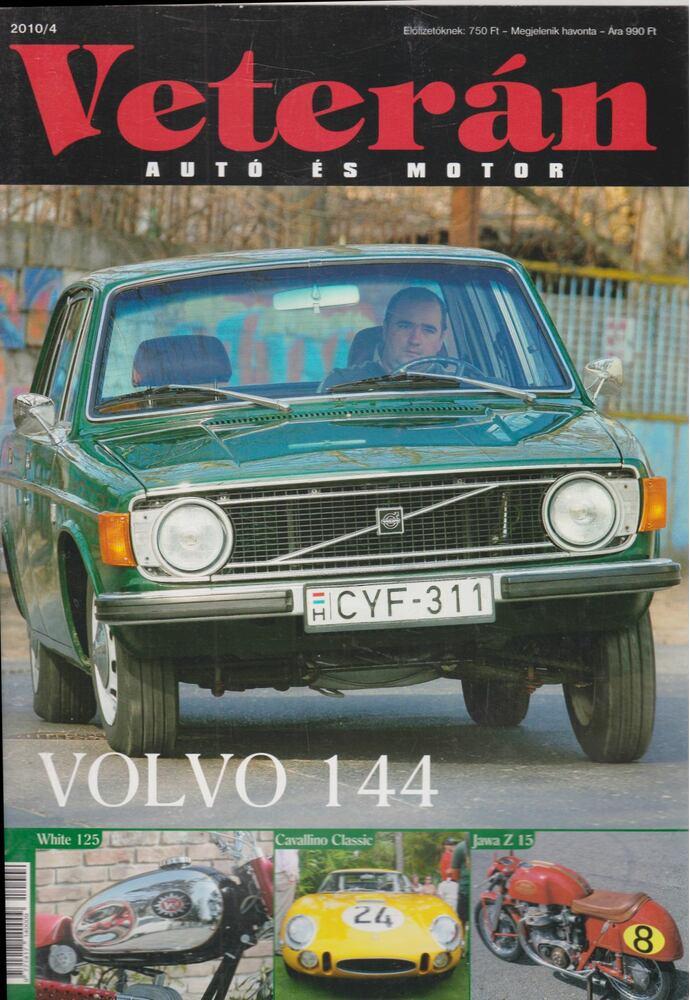 Veterán autó és motor 2010/4