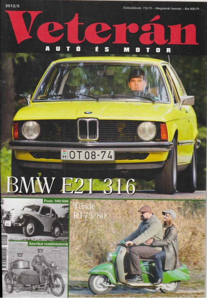 Veterán autó és motor 2012/5