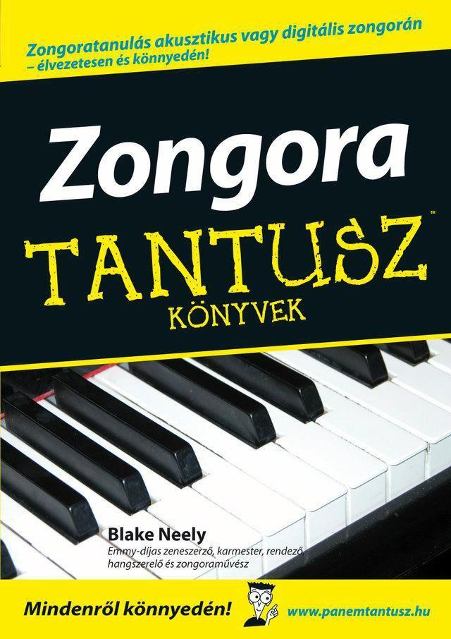 Zongora - Tantusz könyvek
