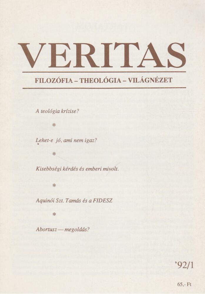 Veritas 1992/1