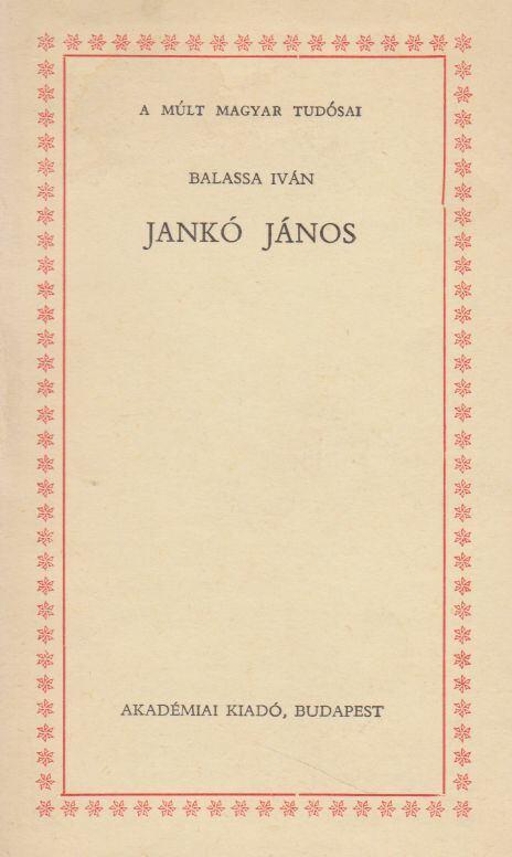 Jankó János