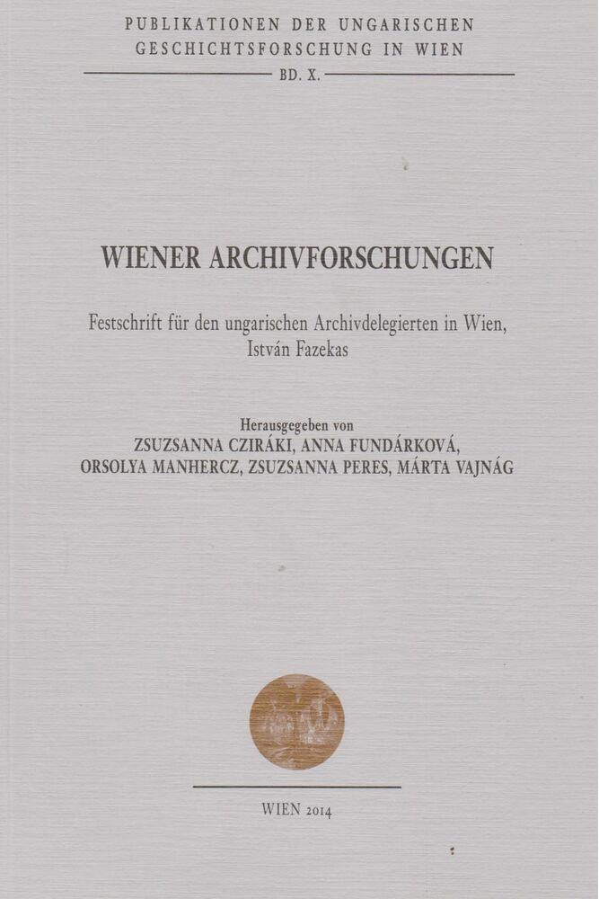 Wiener Archivforschungen