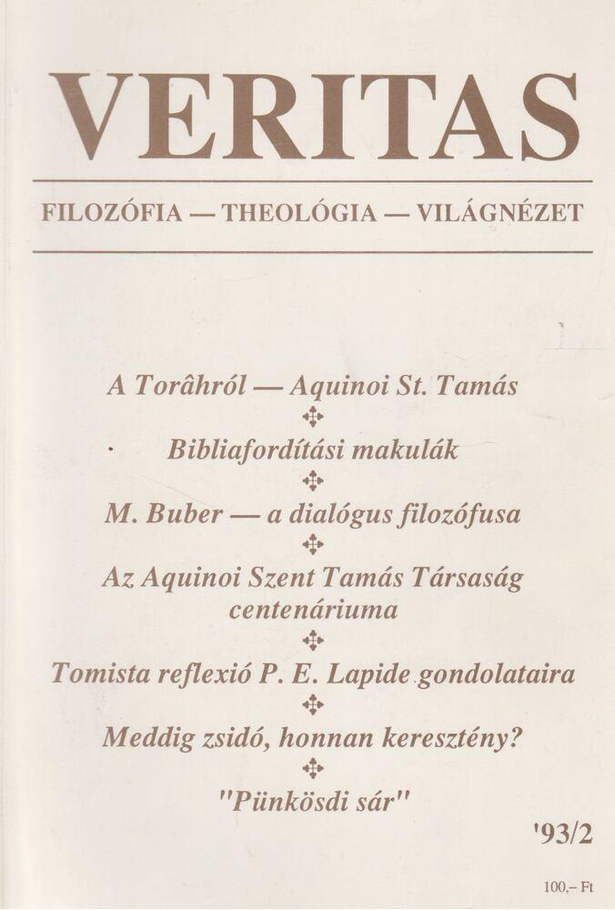 Veritas 1993/2