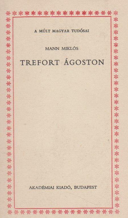Trefort Ágoston