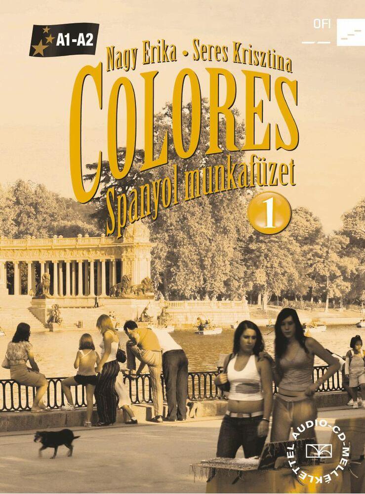 56496/M/NAT COLORES 1. - SPANYOL MUNKAFÜZET + CD