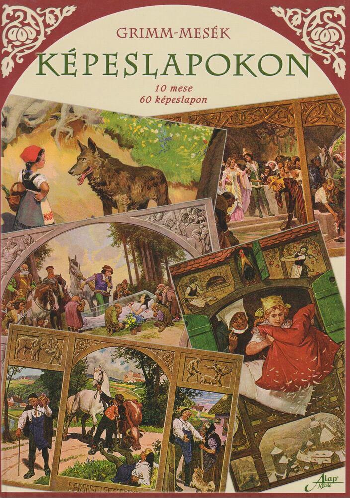 Grimm-mesék képeslapokon