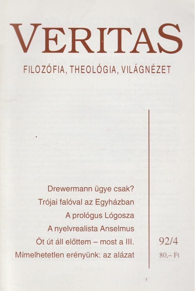 Veritas 1992/4