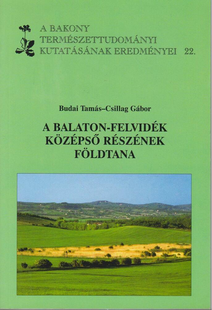 A Balaton-felvidék középső részének földtana
