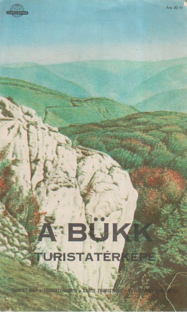 A Bükk turistatérképe (1:60000)