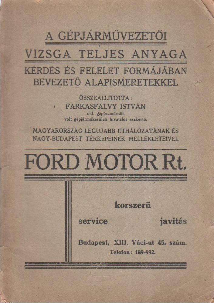A gépjárművezetői vizsga teljes anyaga