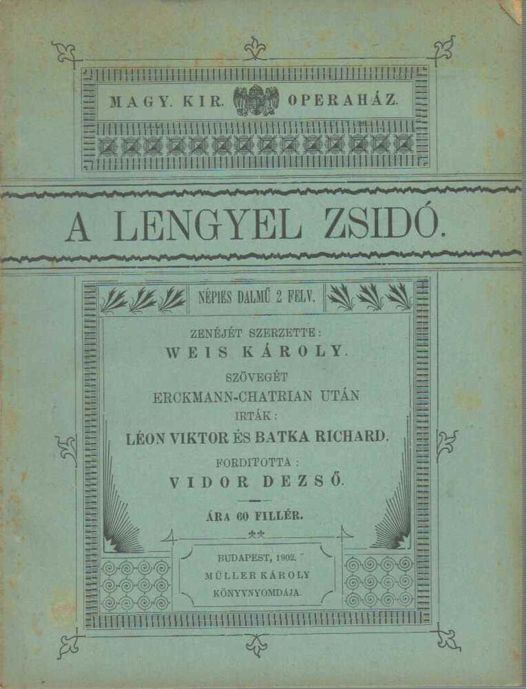 A lengyel zsidó