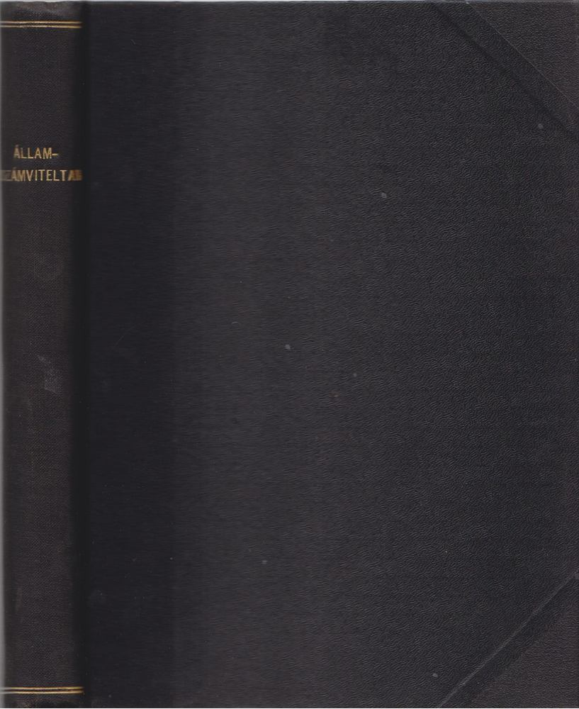 Államszámviteltan II. kötet