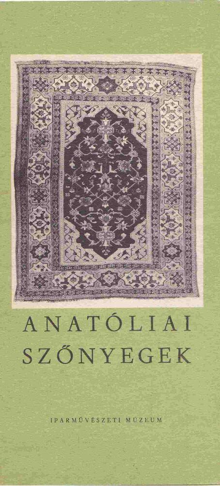 Anatóliai szőnyegek