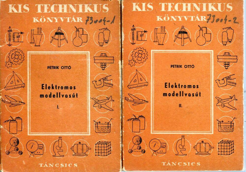 Az elektromos modellvasút I-II. kötet