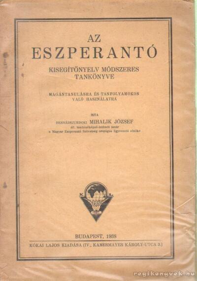 Az eszperantó