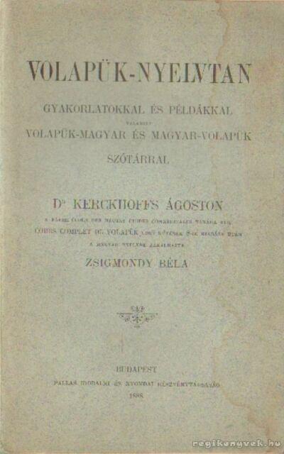 Volapük-nyelvtan