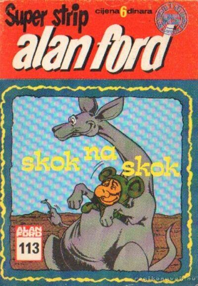 Alan ford - Skok na skok