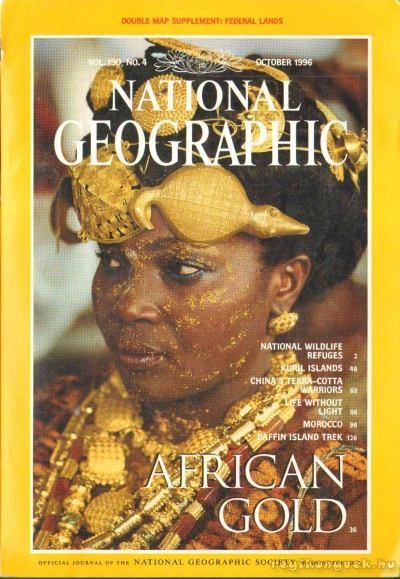 National Geographic 1996 October