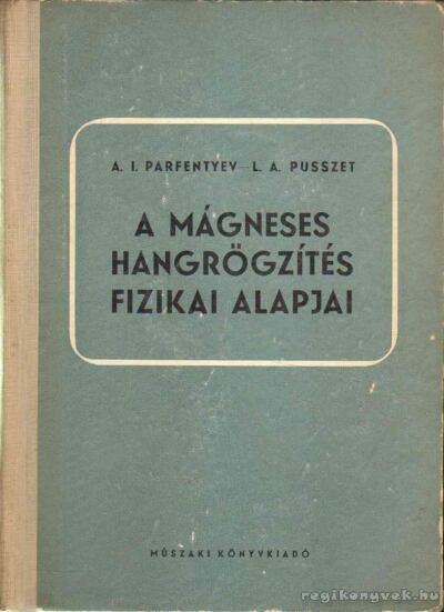 A mágneses hangrögzítés fizikai alapjai