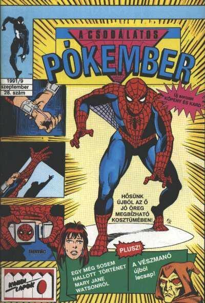 A Csodálatos Pókember 1991/9. 28. szám