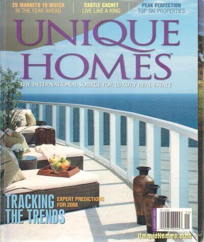 Unique Homes 2008 January