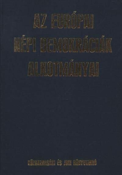 Az európai népi demokráciák alkotmányai