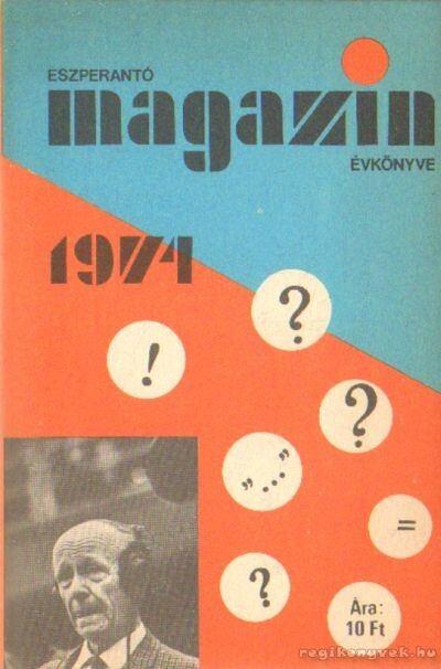 Eszperantó magazin évkönyve 1974.
