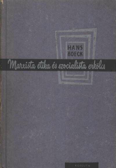 Marxista etika és szocialista erkölcs