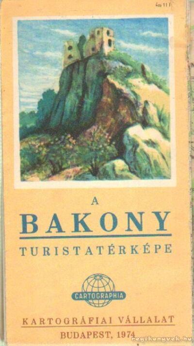 A Bakony turistatérképe