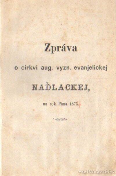 Zpráva ( 1875)