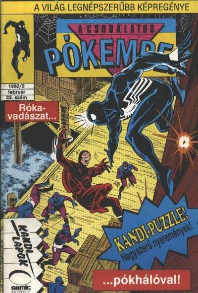 A Csodálatos Pókember 1992/2. 33. szám