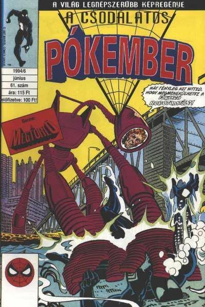 A Csodálatos Pókember 1994/6 június 61. szám