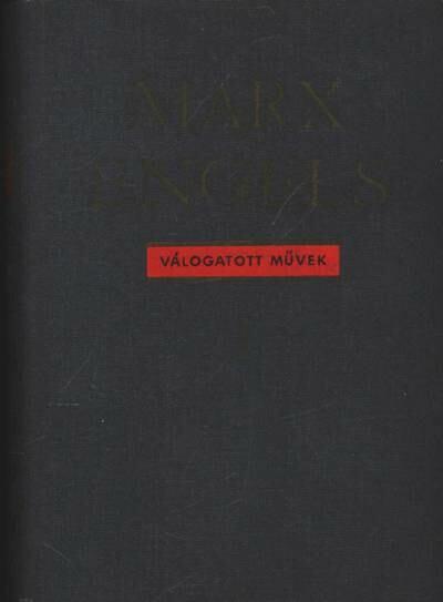 Marx-Engels válogatott művek I-II. kötet
