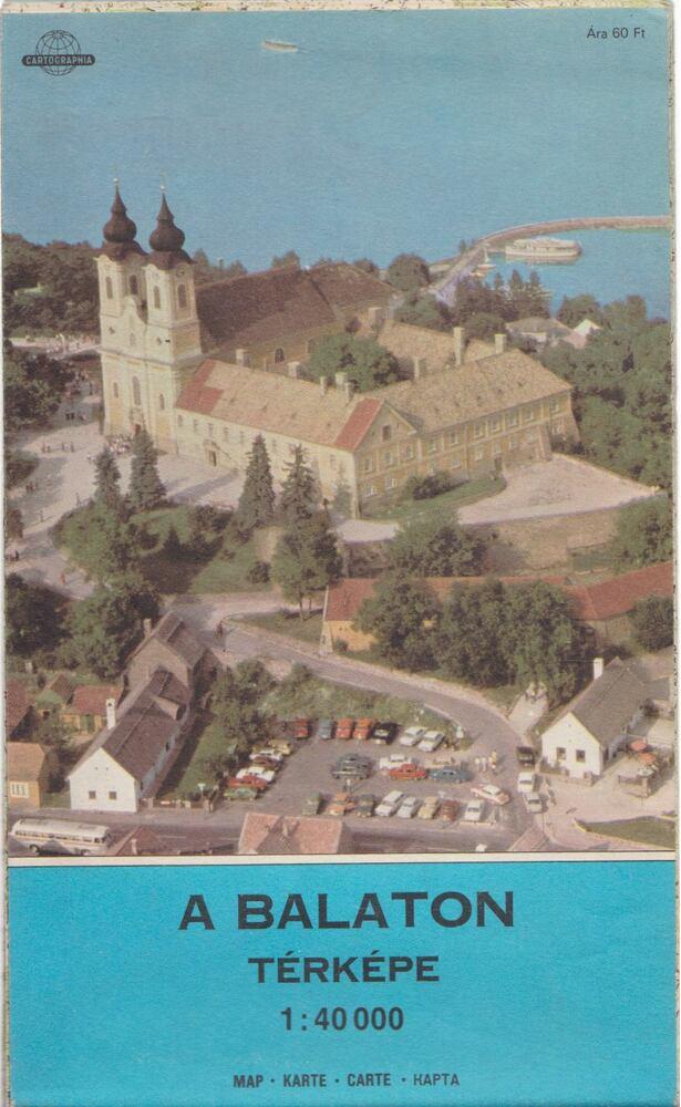 A Balaton térképe