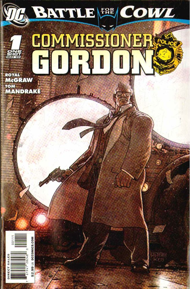 Batman: Battle for the Cowl: Commissioner Gordon 1.