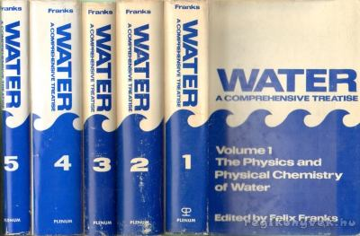 Water - A Comprehensive Treatise I-V.