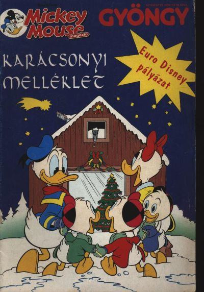 A Gyöngy karácsonyi Mickey Mouse melléklete