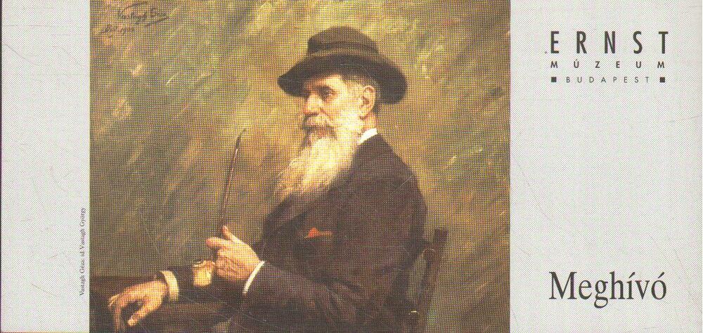 120 év a művészet szolgálatában: A Vastagh művészcsalád c. kiállítás megnyitója (meghívó)