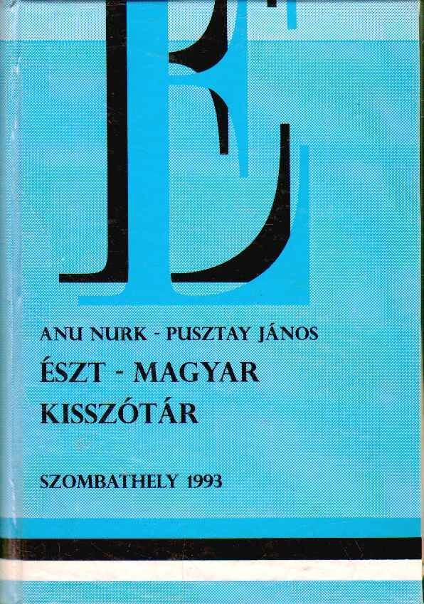 Észt-magyar kisszótár