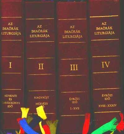 Az imaórák liturgiája I-IV. kötet