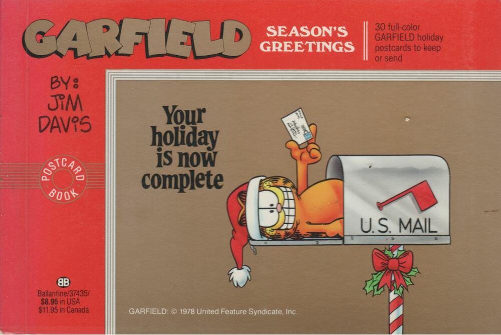 Garfield season's greetings (angol)