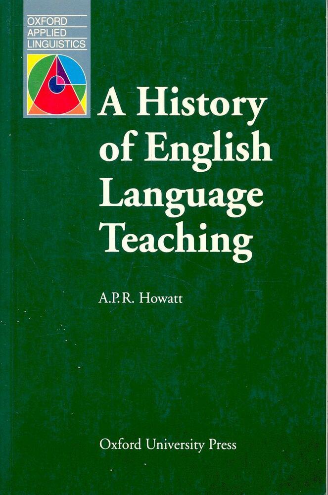 A History of English Language Teaching