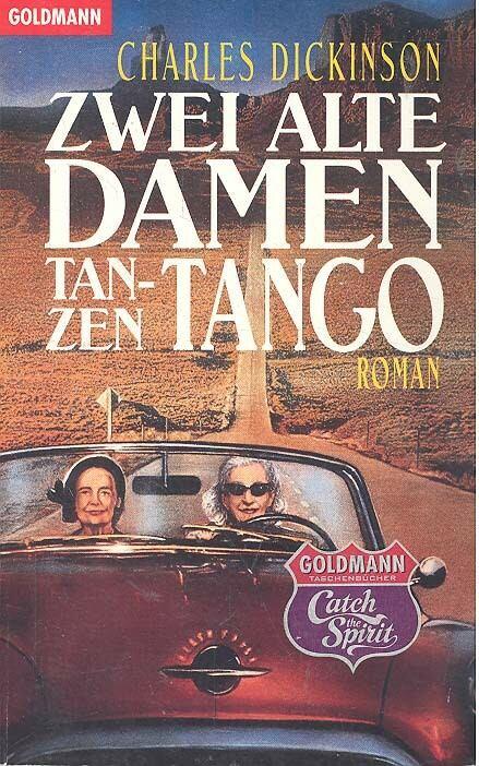 Zwei alte Damen tanzen tango