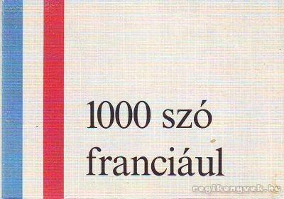 1000 szó franciául
