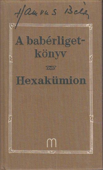 A babérligetkönyv / Hexakümion