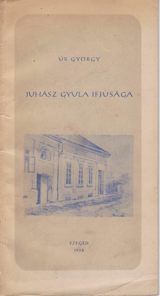 Juhász Gyula ifjúsága